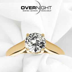Overnight Engagement Rings Avaialable Near Anniston, AL