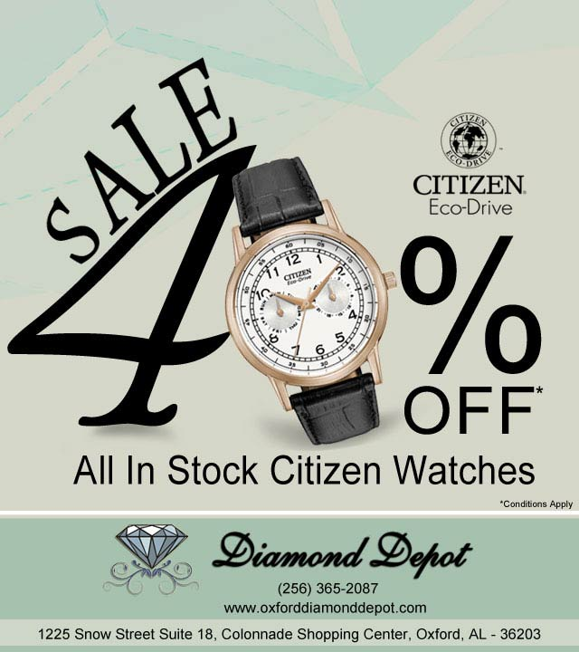Discount on Watches