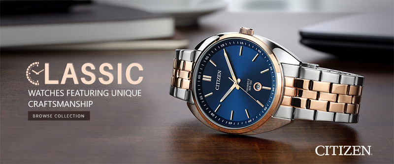Explore Citizen Watches Collection At Diamond Depot