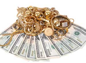 We Buy Gold service available at Diamond Depot